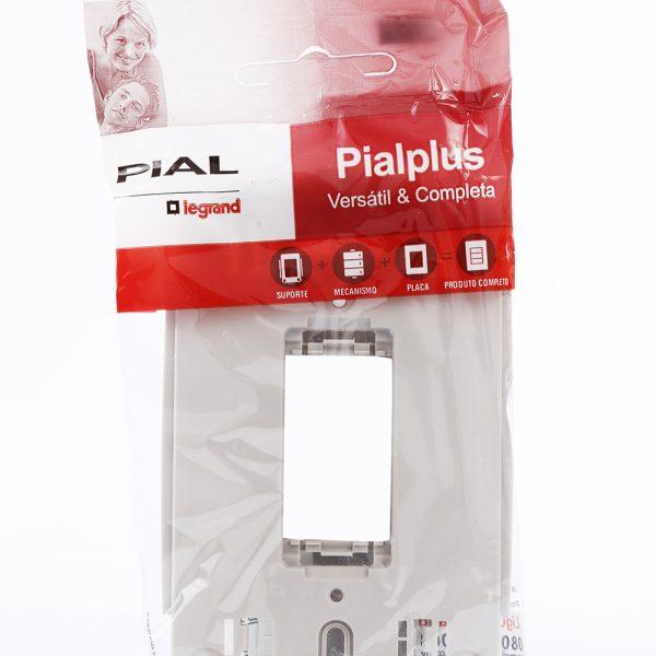 Suporte para Tomadas e Interruptores - Pialplus