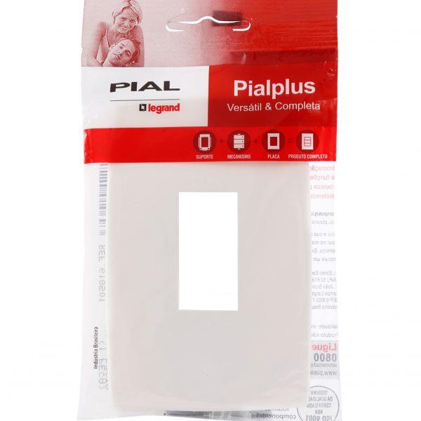 Placa com Posto - Pialplus Legrand