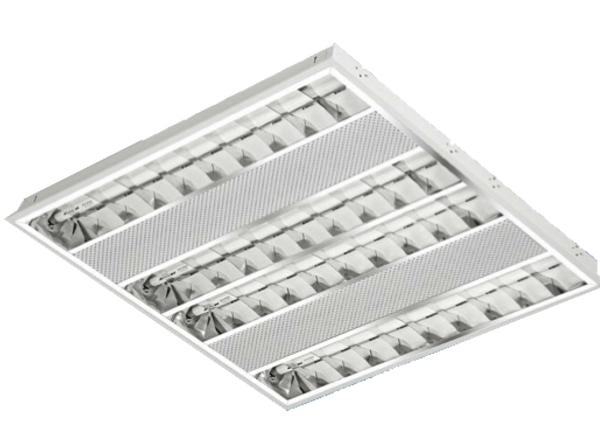 Luminária de Embutir – c/Aleta – 4x14W – Alumbra