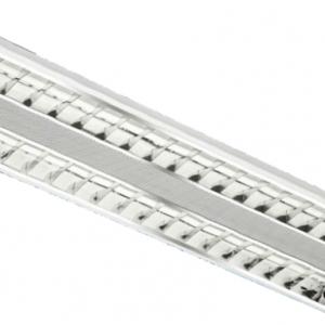 Luminária de Embutir c/aleta – 2x14w – Alumbra