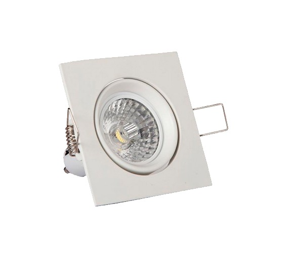 Luminaria de embutir quadrada 18w - KIAN