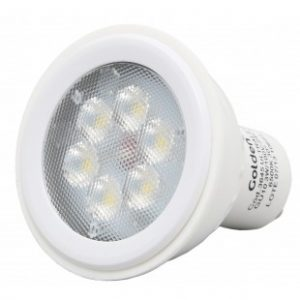 Lâmpada Ultra LED GU10 3W Golden
