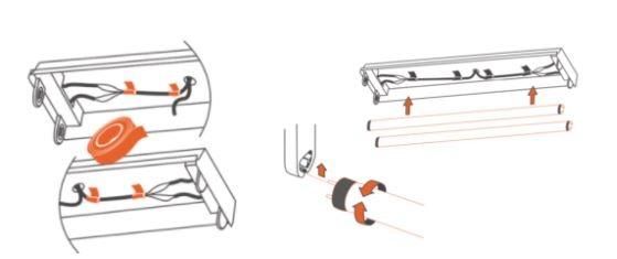 instalar lampada de led tubular