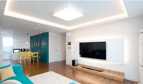 iluminação para a sala
