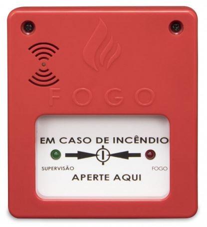acionador manual alarme contra incêndio