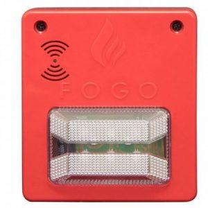 alarme contra incêndio sinalizador audiovisual