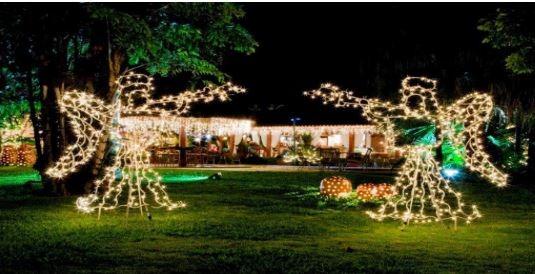 Decoração de Natal para Jardim - JMC Elétrica - Iluminação de Natal