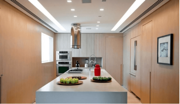 Iluminação para cozinha