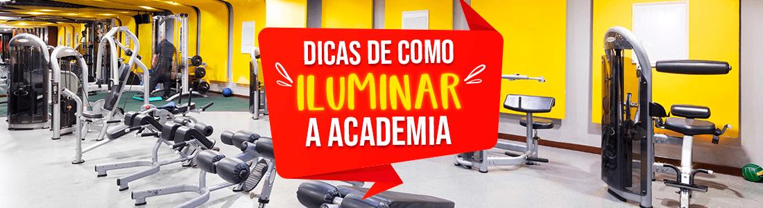 Iluminação para academia