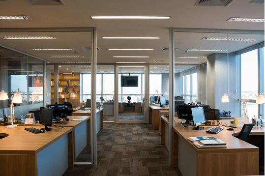 Iluminação para empresa